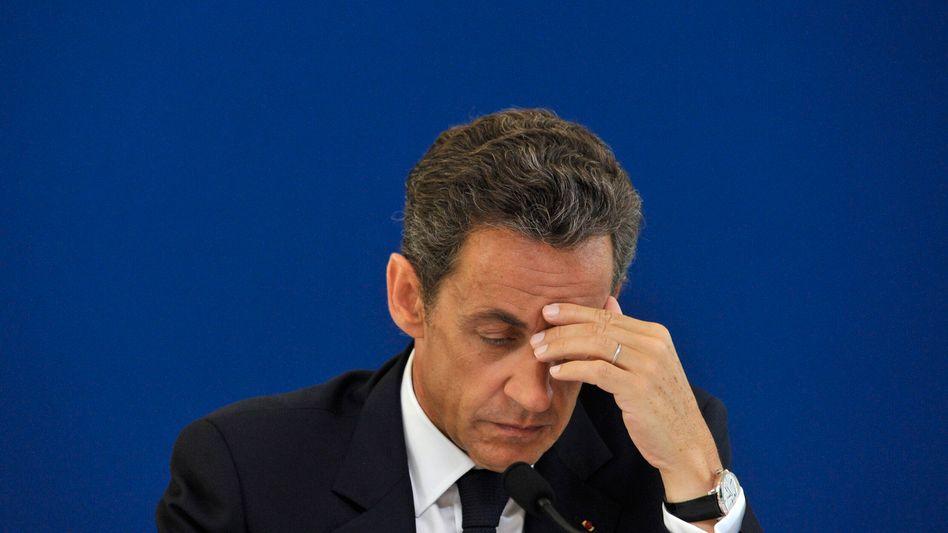 Nicolas Sarkozy: Er denkt nur Gutes über seinen Arbeitsminister Woerth