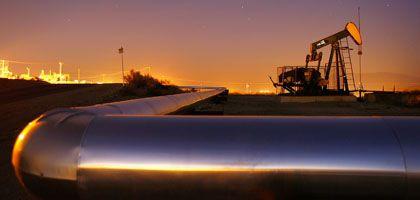 Ölpumpe in Kalifornien: Enttäuschende Konjunkturdaten sind am Preisrutsch schuld