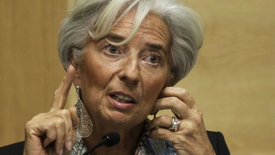 IWF-Chefin Lagarde: Absage aus Washington