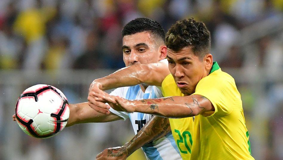 Auch der Klassiker zwischen Brasilien und Argentinien entfällt