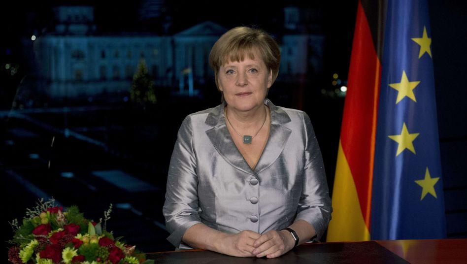 Neujahrsansprache: Merkel schwört Deutsche auf harte Zeiten ein