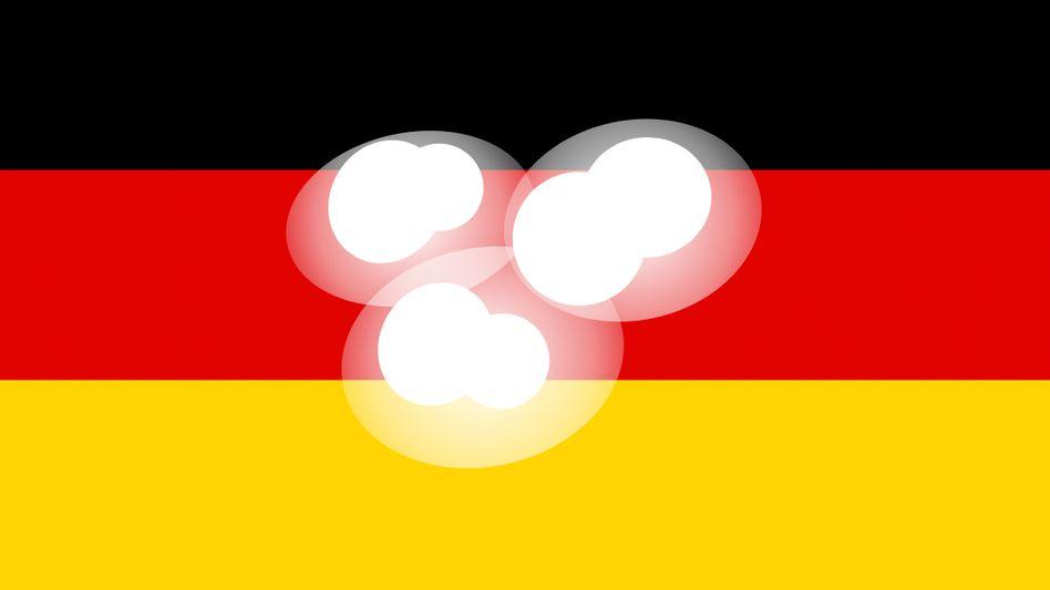 Fiktive Deutschlandflagge
