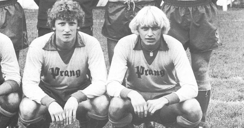 Hätten Sie ihn erkannt? Links, das ist Andreas Brehme, der bei BU anfing und später Deutschland zum WM-Titel schoss