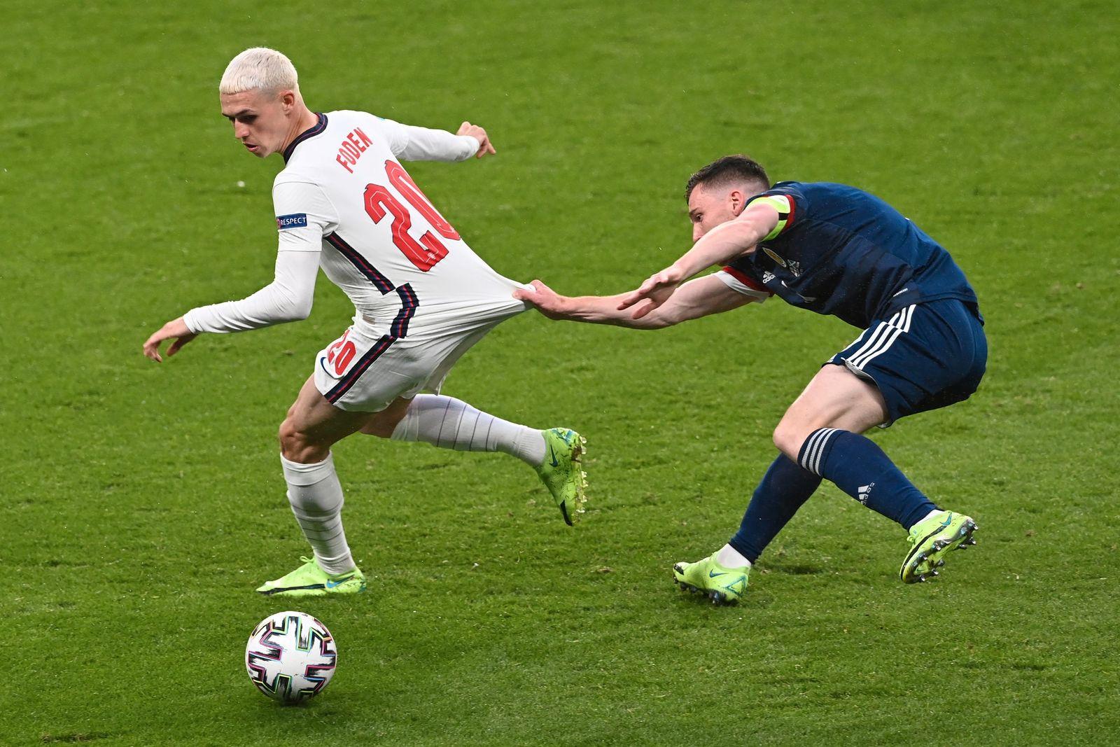 Fußball EM - England - Schottland