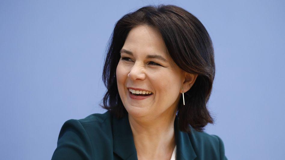 Grüne Kanzlerkandidatin Annalena Baerbock: »Es läuft rund bei uns«