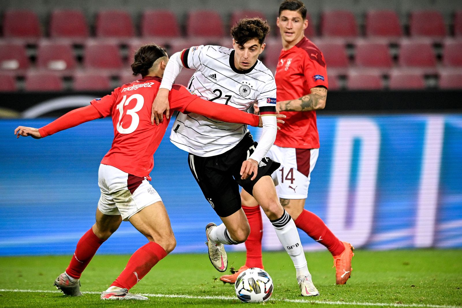 Germany vs Switzerland, Cologne - 13 Oct 2020