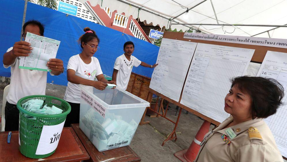 Fotostrecke: Thailand hatte die Wahl