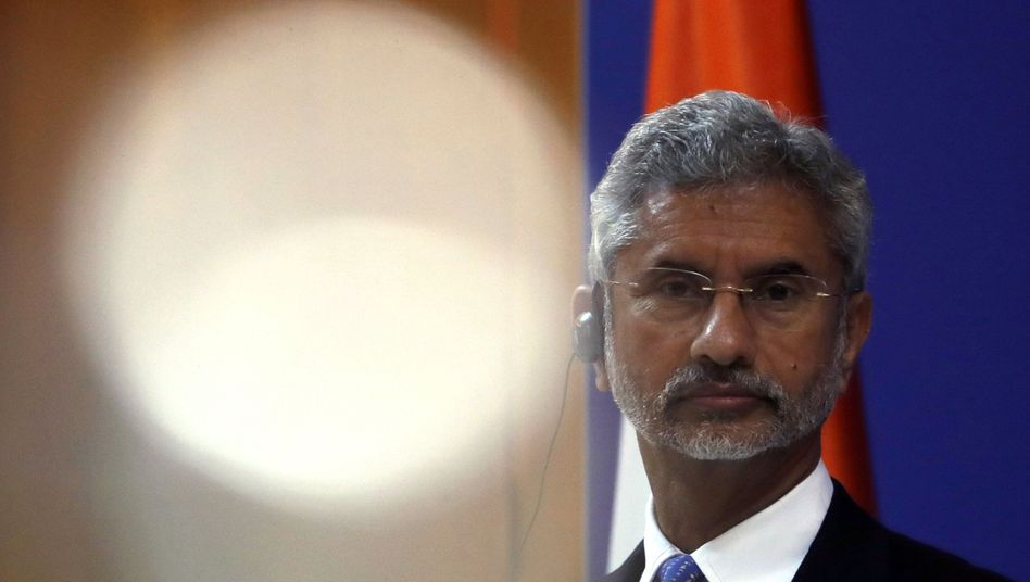 Indian External Affairs Minister Subrahmanyam Jaishankar