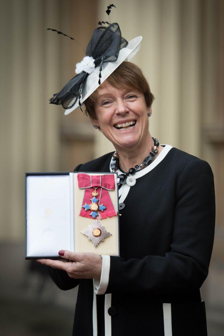 Tory-Abgeordnete Caroline Spelman