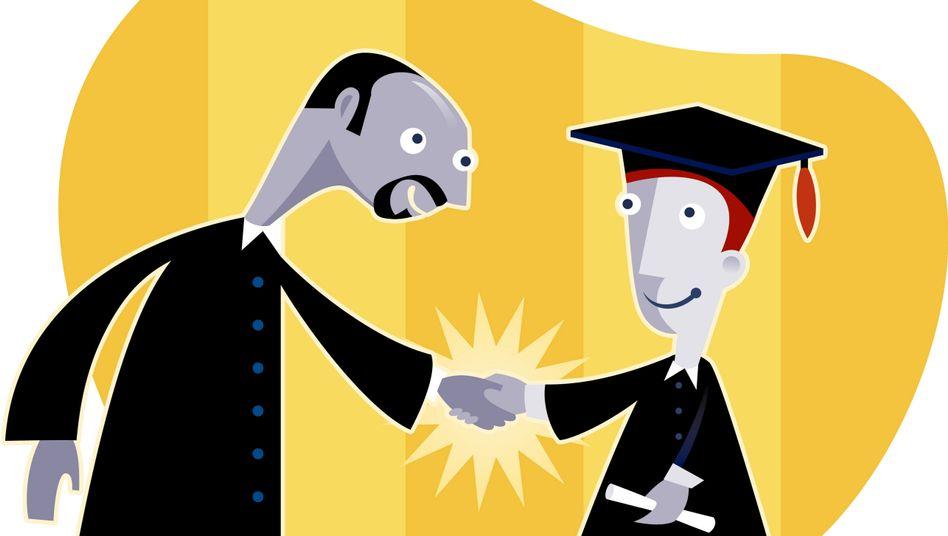 Uni-Abschluss: So schnell wie vorgesehen schafft es nur eine Minderheit der Studenten
