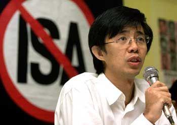 Oppositionspolitiker Tian Chua