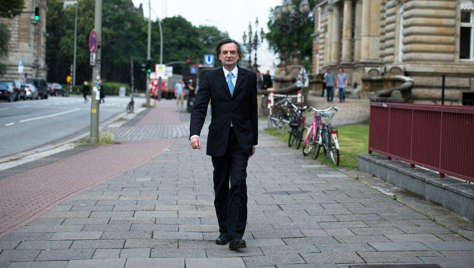 Ex-Vorstand Nonnenmacher: Als freier Mann aus dem Gericht
