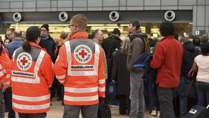 Hamburg: Alarm am Flughafen