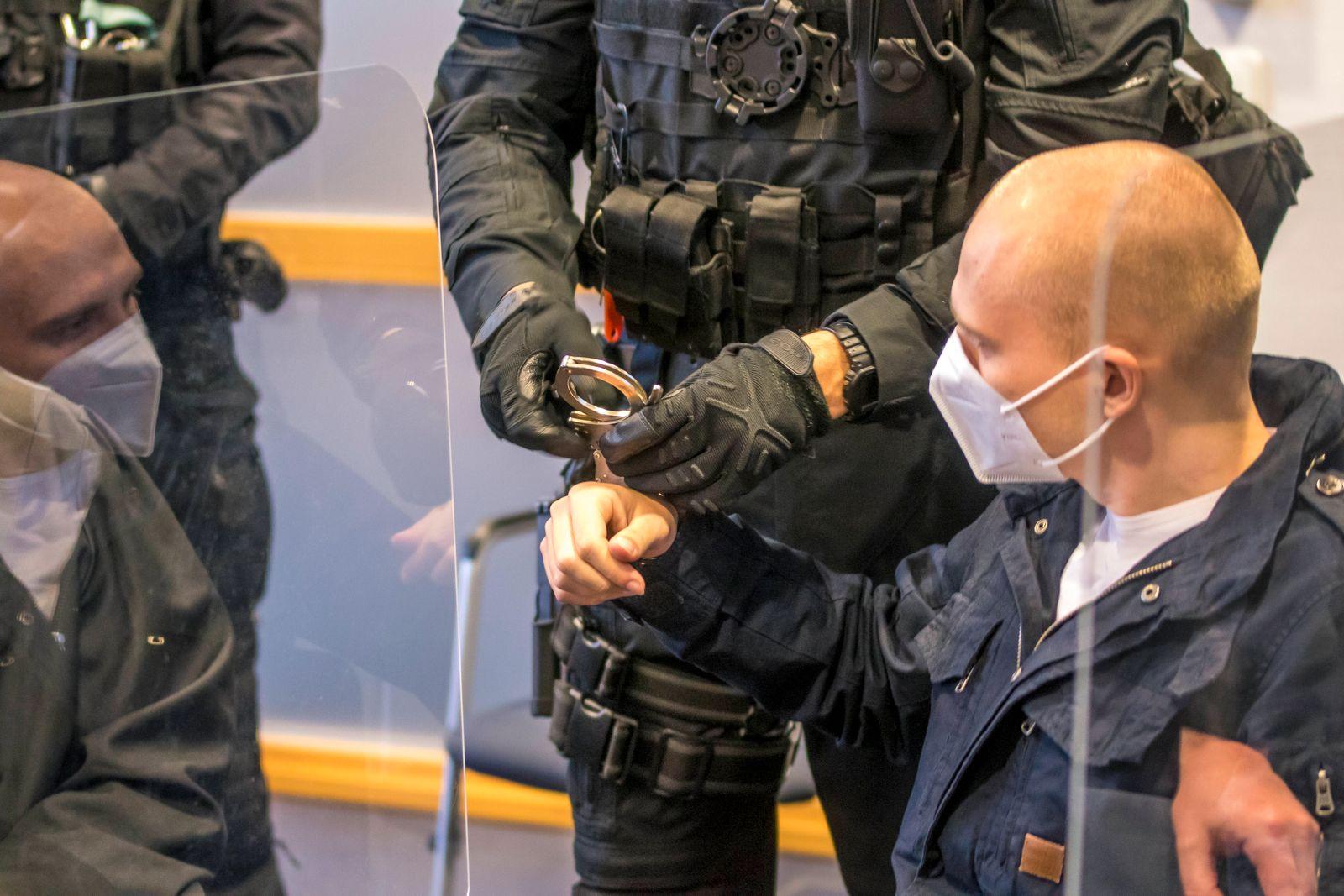 25. Prozesstag in Magdeburg. Das Oberlandesgericht Sachsen-Anhalt mit Sitz in Naumburg, verhandelt im Landgericht Magde
