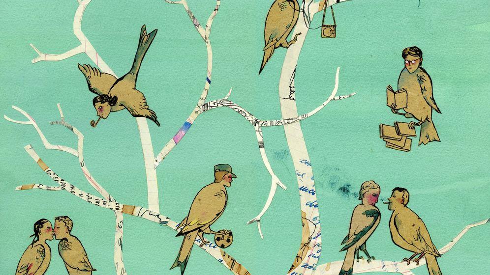 Illustratoren zeichnen: Wie sieht ein Vogel aus?