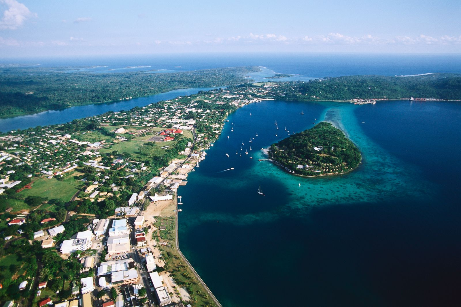 Port Vila on Efate Island