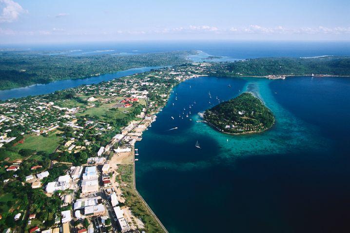 Hauptstadt Port Vila auf Vanuatu (Archivbild)