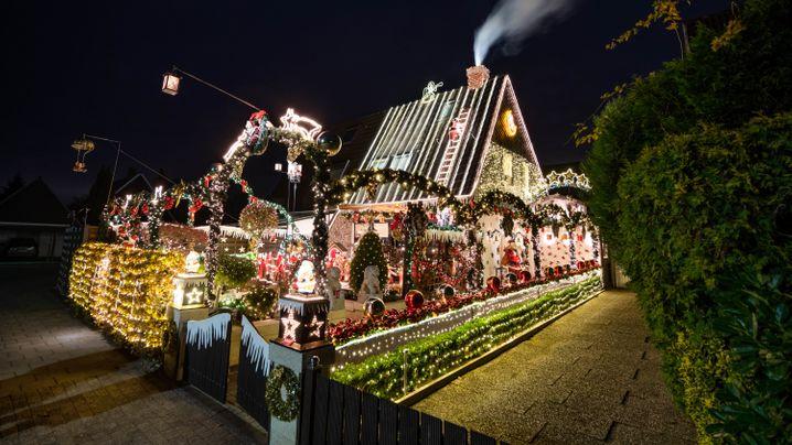 Weihnachtsdeko: Alles so schön bunt hier