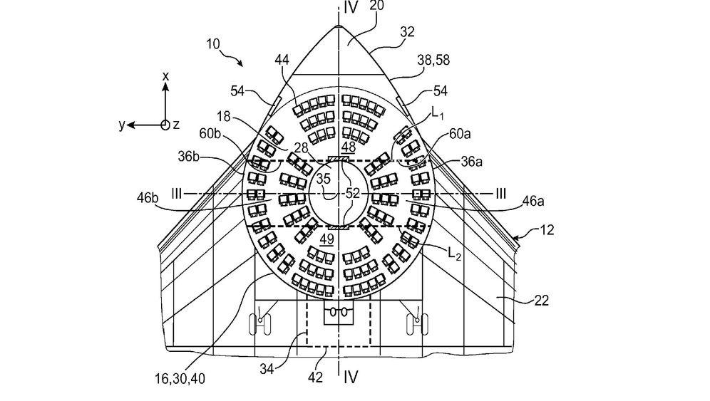 Kuriose Airbus-Patente: Wenn der Pilot im Heckflügel sitzt