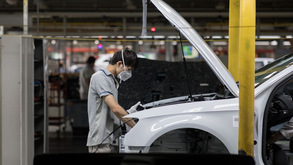 VW-Werk in China (Archivbild)