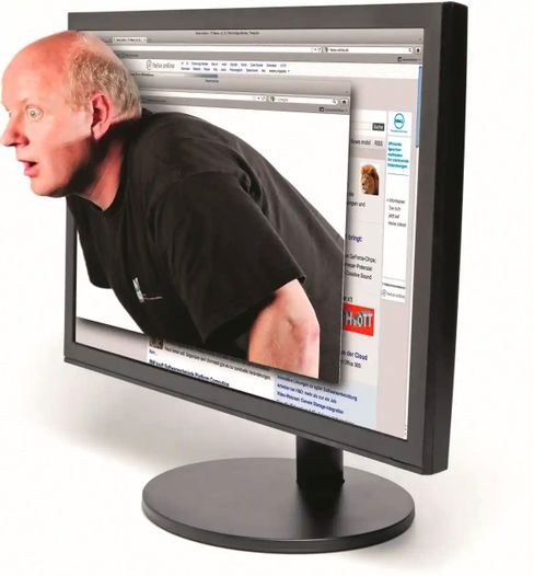 3D monitors were also very well received by »c't« in the late 2000s.