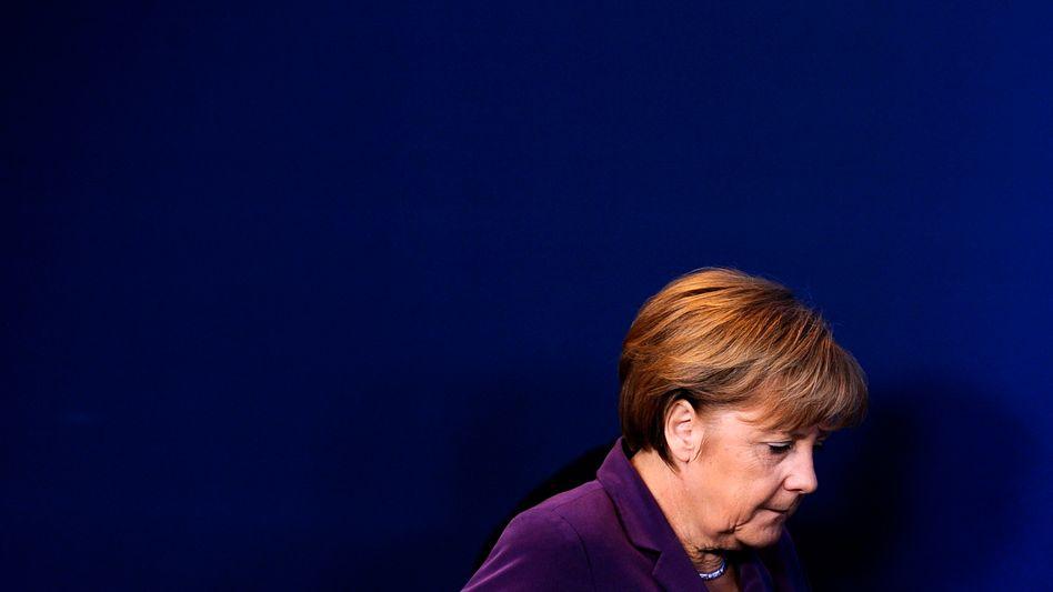 """Angela Merkel: """"Nicht wegducken bei Massenbewegungen"""""""