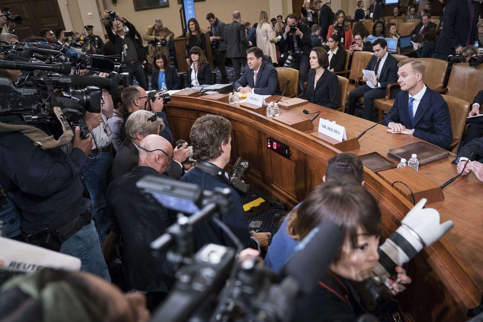 Fiona Hill / Anhörung Impeachment