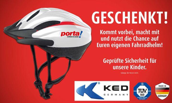"""Werbung für """"Aktion Helm auf"""""""