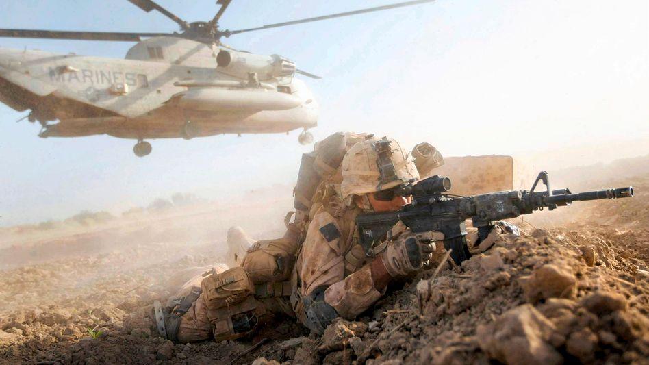 Gescheitert in Afghanistan: 2001 marschierten US-Truppen ein, um den islamistischen Terror zu bekämpfen. Nach ihrem Abzug 2021 übernahmen die islamistischen Taliban die Macht.