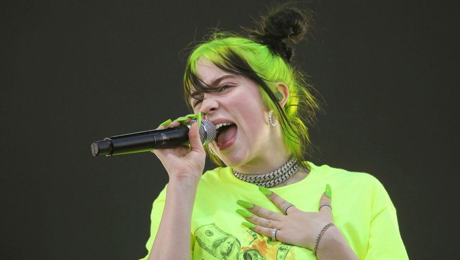 Auch 2020 die meistgestreamte Künstlerin weltweit: Billie Eilish