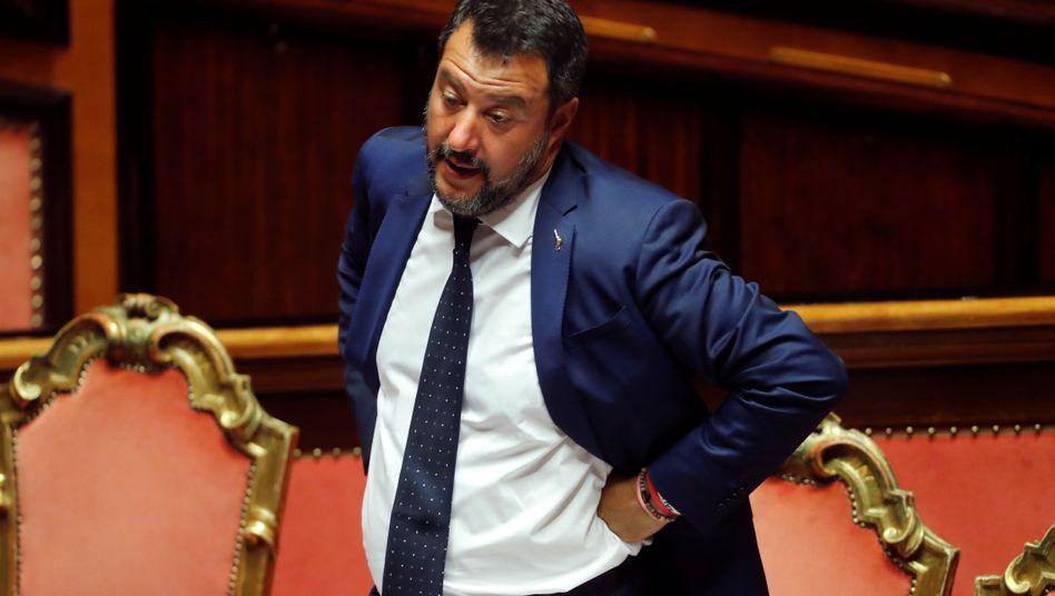 Matteo Salvini: Es sei zwecklos, mit Streitereien wie in den vergangenen Wochen weiterzumachen