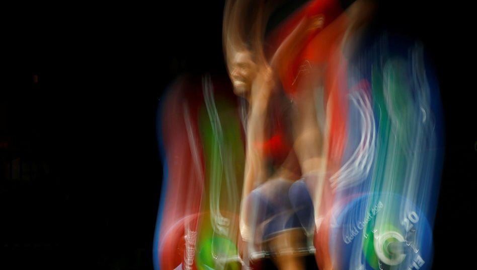 Gewichtheber bei den Commonwealth Games (Symbolbild)