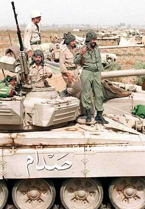 Irakische Soldaten der Republikanischen Garde: Unterschätzte Kampfkraft
