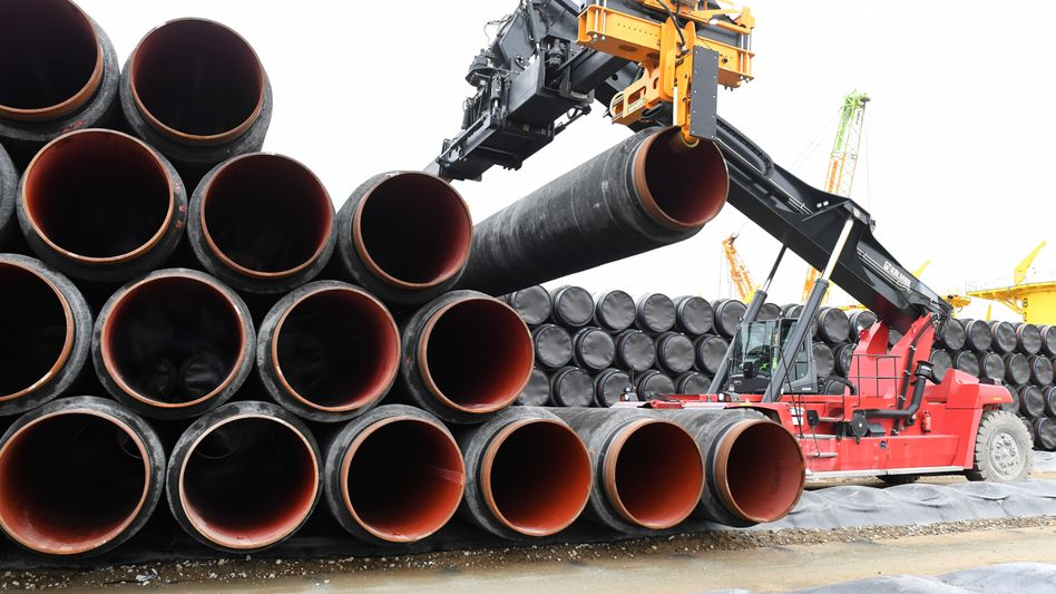 Rohre für Nord Stream 2