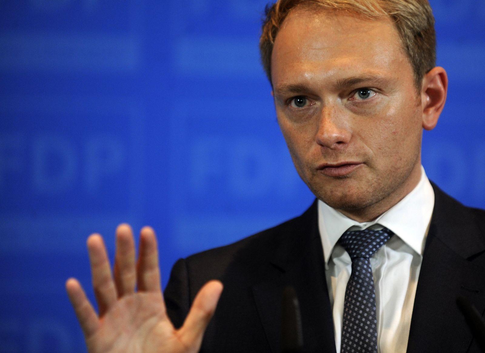 DEU BB Koalition FDP Lindner