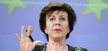 """Kommissarin Kroes: """"Es ist immer empfehlenswert, Kontakt mit der Kommission aufzunehmen"""", empfiehlt ihr Sprecher"""