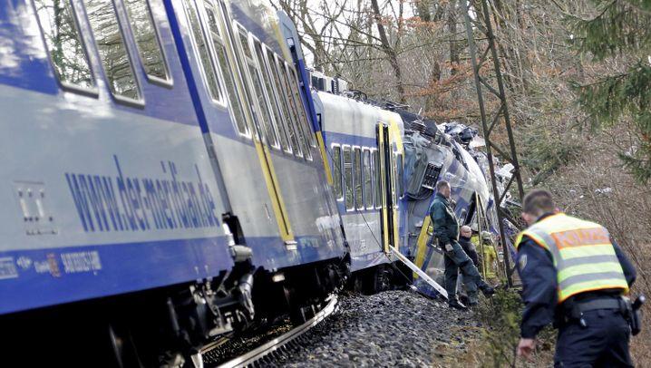 Zugunfall: Tödliches Unglück bei Bad Aibling