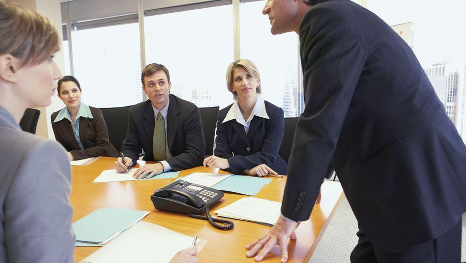 Chef im Meeting: Wir sind ja alle so nachhaltig - außer vielleicht heute