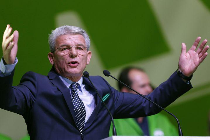 Sefik Dzaferovic, für Bosniens Muslime im Staatspräsidium