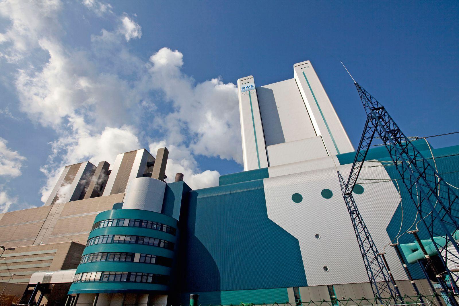 EINMALIGE VERWENDUNG Niederaussem / Kohlenkraftwerk / RWE