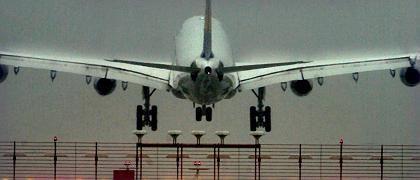 Landung in Frankfurt: Der Rhein-Main Flughafen stand im Zentrum eines Terrorplans
