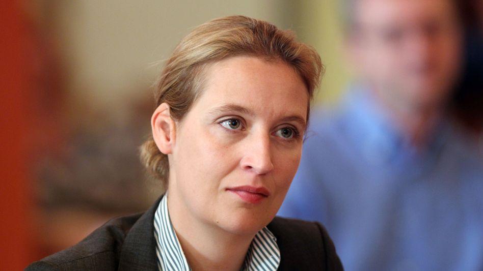AfD-Vorstandsmitglied Alice Weidel