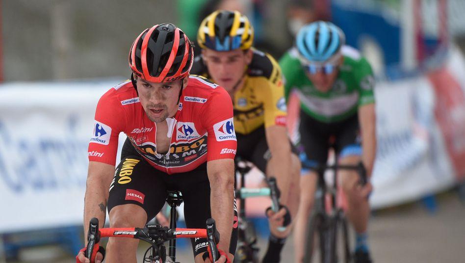 Primoz Roglic muss das Rote Trikot bei der Vuelta wieder abgeben
