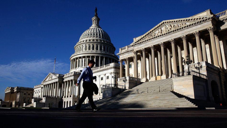 Kapitol in Washington: Haushaltsstreit ist eskaliert