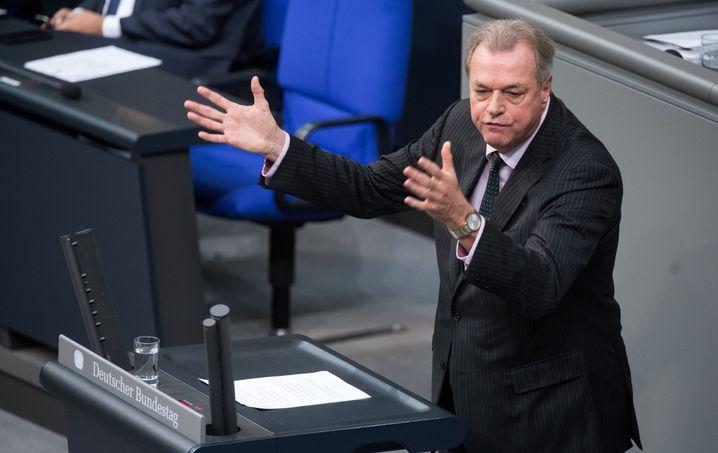 Frithjof Schmidt, Mitglied des Bundestags für die Grünenfraktion: Deutschland als Komplize des Königs
