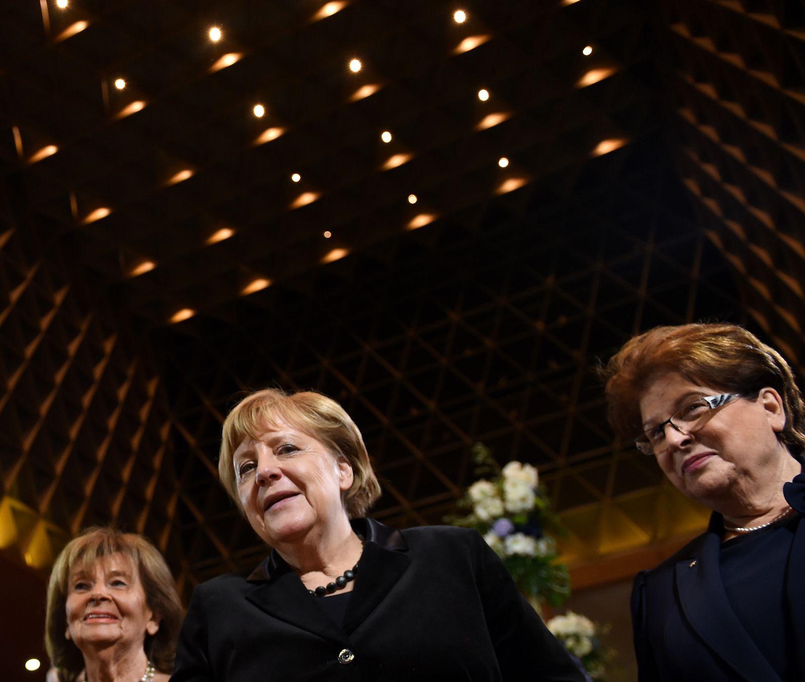 Angela Merkel Charlotte Knobloch Barbara Stamm