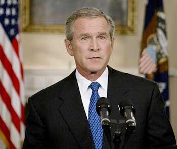 """Bush: """"Die Feinde der Freiheit müssen besiegt werden"""""""
