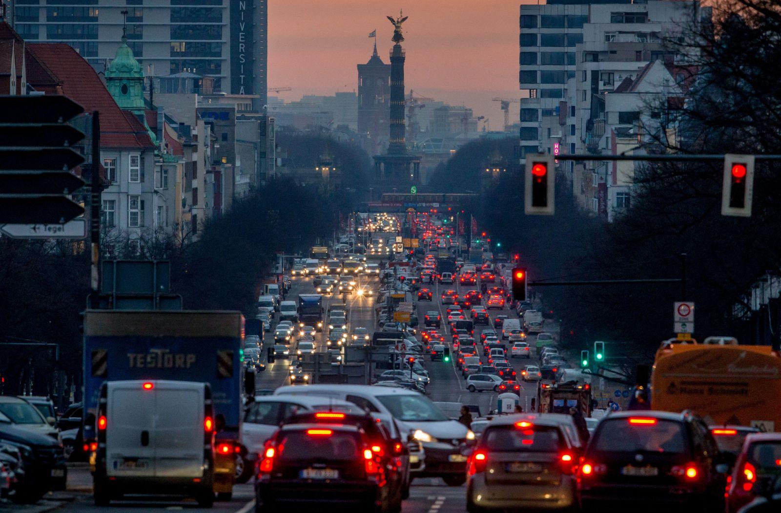 Berufsverkehr/ Berlin
