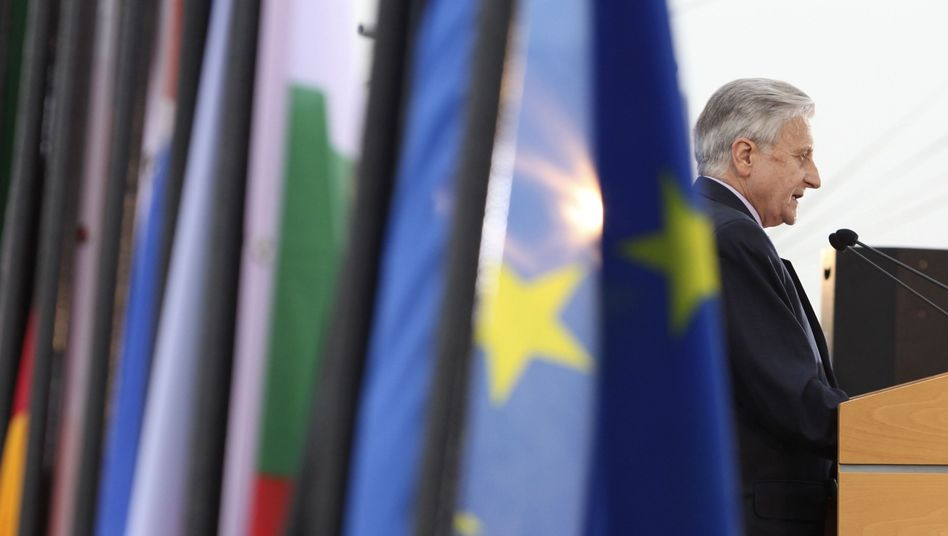 European Central Bank President Jean-Claude Trichet: German central bankers are skeptical about the ECB's buying-up of Greek bonds.