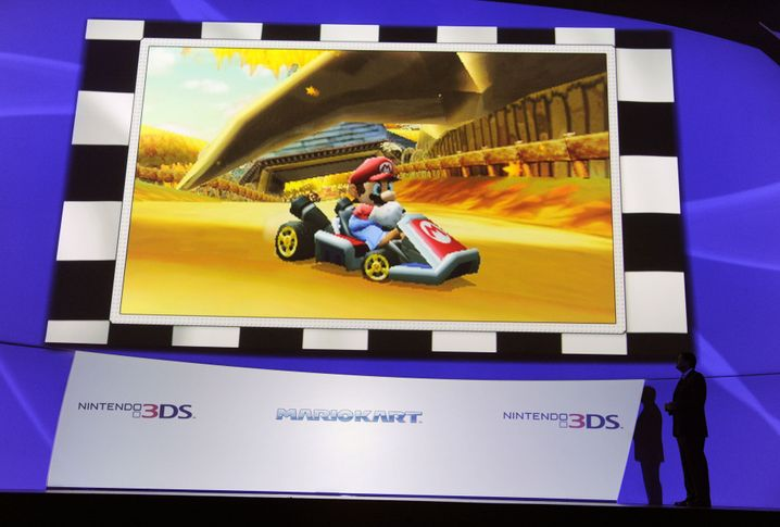 """Videospiel """"Mario Kart"""": Neuauflage in 3D"""